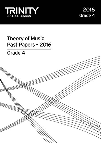 Trinity College London Theory of Music Past Paper (2016) Grade 4 (Trinity Theory Past Papers) por Trinity College Lond
