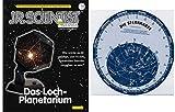 EDU Toys Planetarium Bausatz mit Lehrbuch und Extra Sternkarte