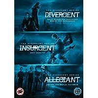Divergent, Insurgent and Allegiant