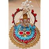 Ganesha Engagement Ring Platter/tray With 2 Ring Holder