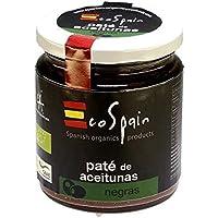 EcoSpain Paté de Aceitunas Negras Ecológicas - 220 gr