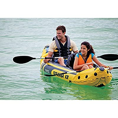 Intex Explorer K2 Kayak, Yellow by Intex Recreation Corp.