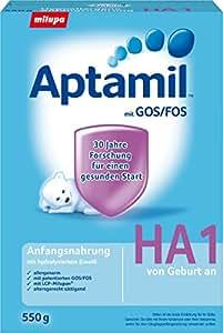 Aptamil HA1 Hypoallergene Anfangsnahrung, 3er Pack (3 x 550 g)