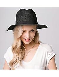 JL Sombrero Sombrero De Paja Verano Mujer Sombrilla Sombrero De Paja  Sombrero De Paja Sombrero Ancho e4c88c50990