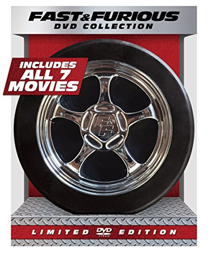fast and furious dvd box FAST & FURIOUS 1-7 COLLECTION - FAST & FURIOUS 1-7 COLLECTION (8 DVD)
