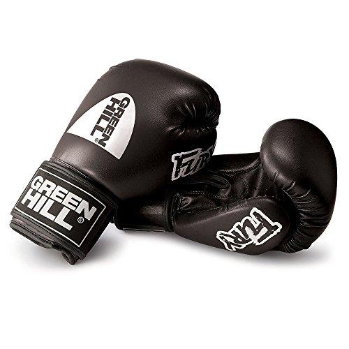 Fury Boxing Gloves ( Black , 12 OZ )