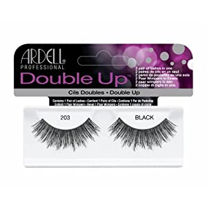 (3 Pack) ARDELL Double Up Lashes - Black 203