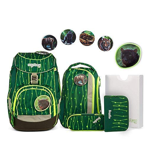 ergobag Pack - ergonomisches Schulrucksack-Set RambazamBär