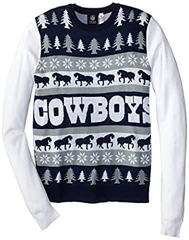 Dallas Cowboys One Too Many Ugly Sweater Extra Large