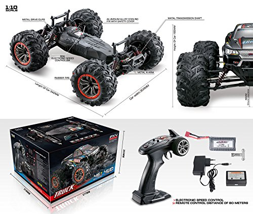 RC Auto kaufen Monstertruck Bild 6: 1:10 Momola 4WD 46km/h*