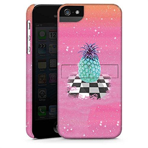 Apple iPhone X Silikon Hülle Case Schutzhülle Great Pineapple Ananas Galaxie Premium Case StandUp