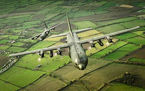 WACYDSD Malen Nach Zahlen Hercules Aircraft DIY Einzigartiges Geschenk Handgemaltes Ölgemälde Für Hauptwanddekor Kunstwerke Frameless (Hercules Kinder Buch)