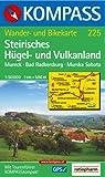 Südsteirisches Hügel- und Vulkanland 1 : 50 000. Mureck, Bad Radkersburg, Murska Sobota. GPS-genau