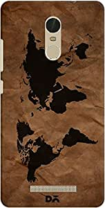redmi note 3 back case cover ,Wrinkled World Map Designer redmi note 3 hard back case cover. Slim light weight polycarbonate case