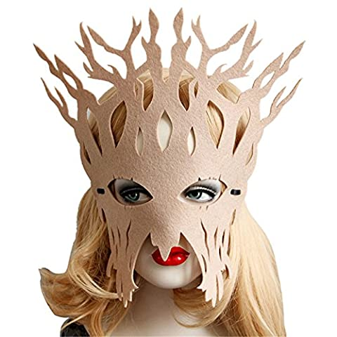 Bal Costumé Décorations - HCFKJ Elegant visage masque bal mascarade Carnaval