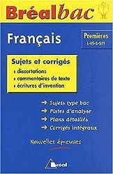 Français 1ere L-ES-S-STT : Sujets et corrigés