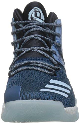 adidas D Rose 7, Scarpe da Basket Uomo Multicolore (Tecste/Cblack/Iceblu)