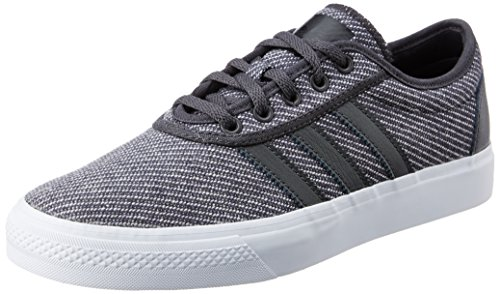 Adidas Adi-Ease Dark Solid Grey/Dark Solid Grey/White Dark Solid Grey/Dark Solid Grey/White
