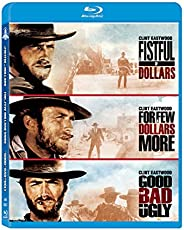 Clint Eastwood 3 Movies Collection: Fistful of Dollars + For a Few Dollars More + The Good, The Bad and The Ug
