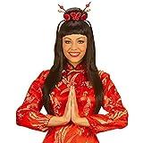 Perruque China Girl perruque de geisha Japon perruque chinoise noire femme chinoise perruque de carnaval perruque carnaval femme noir