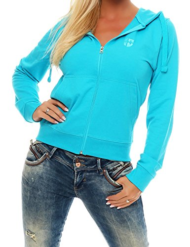 hirt Jacke Damen Trainingsjacke (XL, Türkis) ()