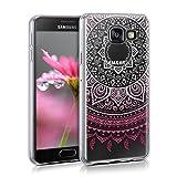 kwmobile Crystal Case Hülle für Samsung Galaxy A3 (2016) - TPU Silikon Cover im Indische Sonne Design