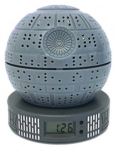 Star Wars Classic Death Star Digital Alarm Clock with Light Up Function …