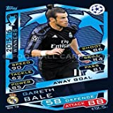 2016/17 MATCH ATTAX CHAMPIONS LEAGUE REAL MADRID GARETH BALE BASE TARJETAS (RM13)
