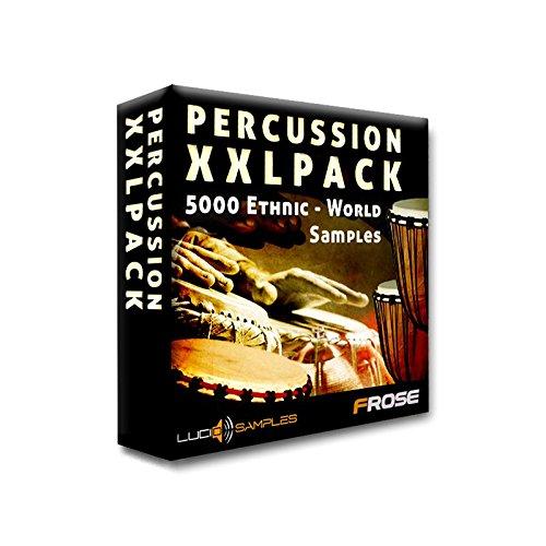 Percussion XXL Pack - Welt und Ethnische Percussion Sounds - Percussion Instrumenten aus aller Welt! 1,13 GB / 5224 Samples In Studios aufgenommen, oder Cut From Vinyls. Welt-und Ethnic Percussion Samples [WAV] [DVD non-BOX]