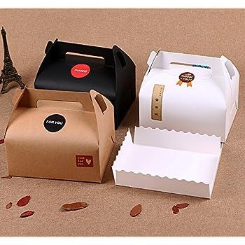 papstar scatole  Papstar 18857-10 Scatole per torta, con coperchio, in cartone ...