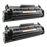 2x Toner-Patrone XL Schwarz für Canon FX-10 I-Sensys MF4010 MF4018 MF4120 MF4122 MF4140 PlatinumSerie