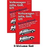 Volkswagen Jetta, Golf, GTI (A4) Service Manual: 1999, 2000, 2001, 2002, 2003, 2004, 2005 - 2 VOLUME SET by Bentley Publishers (2011) Gebundene Ausgabe