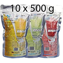 10er Set KELLERMANN Outdoor Sports Drink 3 Sorten Getränkepulver