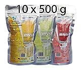 Set con 10 sacchetti. Bevanda isotonica per gli sport outdoor. KELLERMANN® ISOTONIC CLASSIC. 3 sapori
