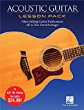 Best Guitar Dvds - Acoustic Guitar Lesson Pack 4 Books & 1 Review