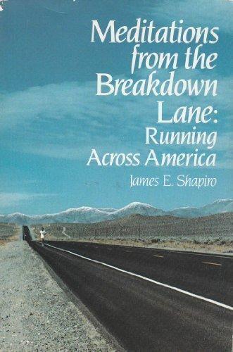 Meditation Breakdown Lane Pb por James E. Shapiro