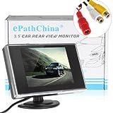Cámara y monitor inalámbricos para coche, con monitor LCD de 3,5/4,3/5pulgadas
