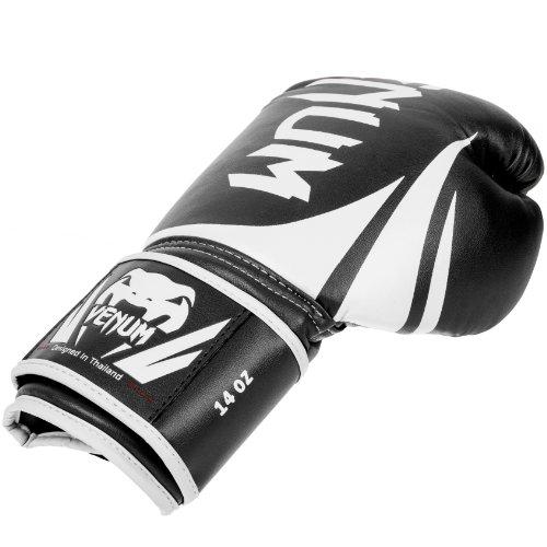 Venum Erwachsene Boxhandschuhe Challenger 2.0, Black, 12 oz, EU-0661 -