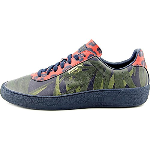 Puma Puma Star X Hoh G Palm Hommes Cuir Baskets Total Eclipse-Green