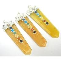Set von drei gelb Quarz Chakra Cabochons Anhänger Fashion Wicca Jewelry Herren Frauen Geschenk Energy Crystal... preisvergleich bei billige-tabletten.eu