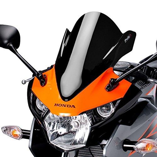 Racingscheibe Puig Honda CBR 125 R 11-16 schwarz
