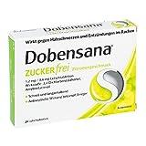 Dobensana Zuckerfrei Zitronengesc.1,2mg/0,6mg Lut. 24 stk