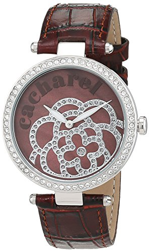 cacharel-womens-quartz-watch-cld-001s-uu-with-leather-strap