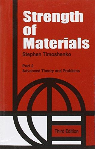 Strength of Materials: v. 2 por Stephen P. Timoshenko