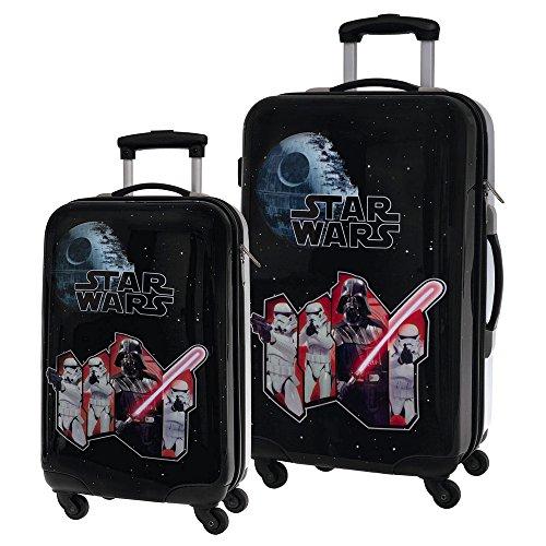 Star Wars Set de Bagages, 67 cm, 86 L, Noir 4261651