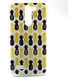 LG Bello D335 Funda Carcasa Soft Case Cover para Smartphone LG L Bello D331 D335 Funda de Silicona de Gel,piña