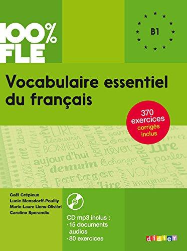 Vocabulaire essentiel du franais niv. B1 - Livre + CD