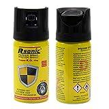 2x 40ml K.O.-Fog pepperspray, dierenafweerspray, verdedigingssprays, traangas, KO-spray, zelfverdedigingsspray