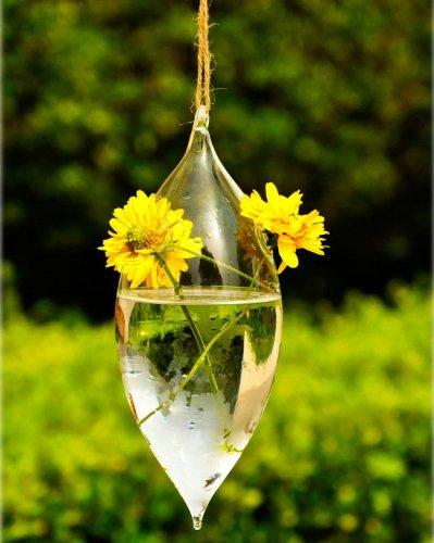 olive-shape-2-hole-glass-flower-hanging-vase-bottle-container-home-garden-decor