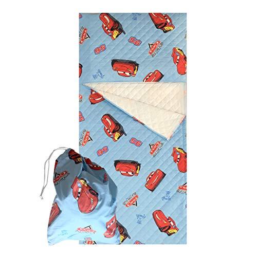 Set asilo - disney - cars - sacco nanna + sacchetto asilo - per bimbi da 2 a 6 anni